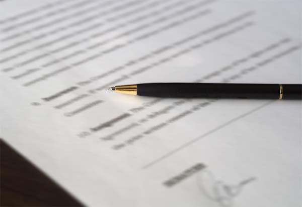 Firma de contrato indefinido