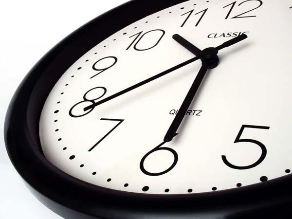 Reloj para registro de jornadas